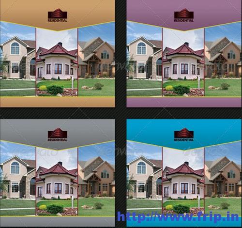 Real Estate Agency 3-fold Brochure