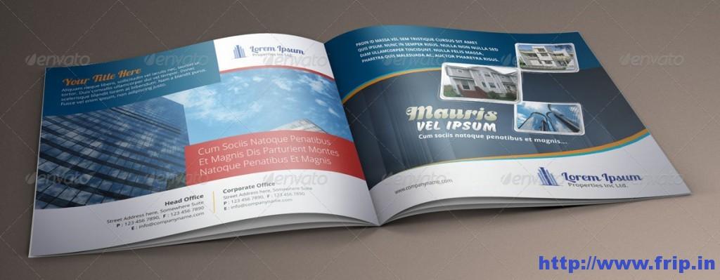 Real Estate Brochure Catalog Template