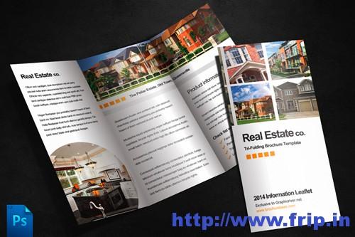 Real Estate Brochures Templatess