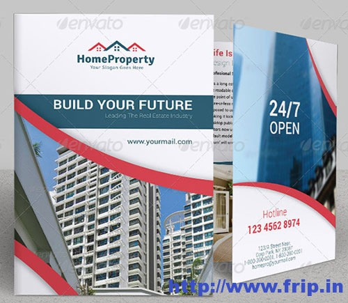 Real Estate Business Tri-Fold Brochure