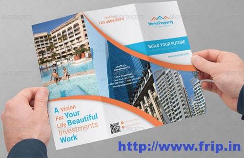 Real Estate Business Tri-Fold Brochures