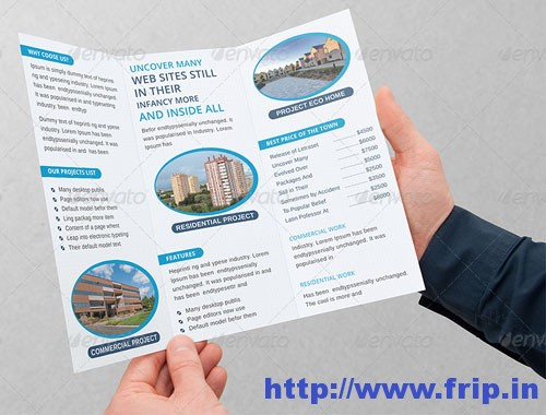 Real Estate Business Tri-Fold Brochuress