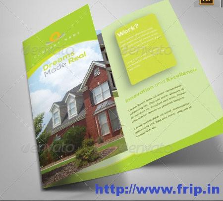 Real Estate Tri-Fold Brochure Design