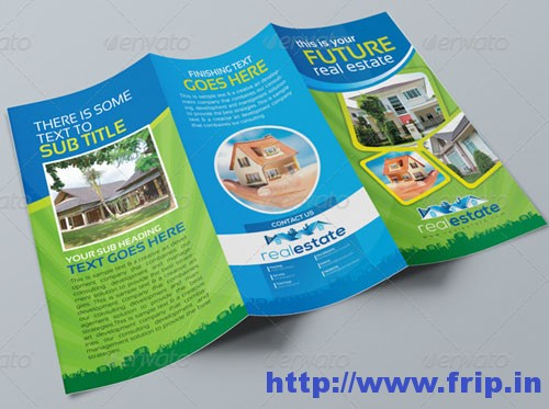 Real Estate Tri-Fold Corporate Brochure