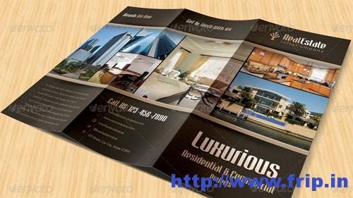 Real Estate Trifold Brochuress