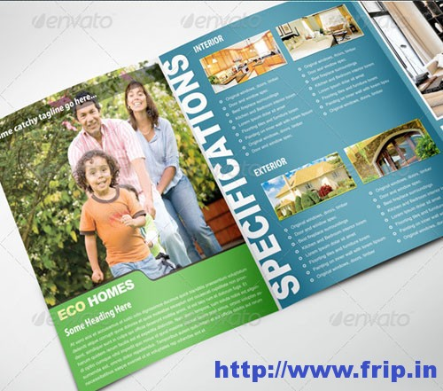 Real Estate Trifold Template