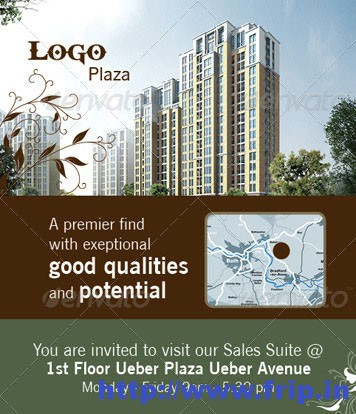 Real Estates Brochure Template