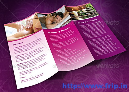 Spa And Massage Business Template