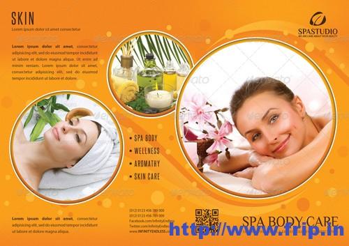 Spa Wellness 3 fold Brochure