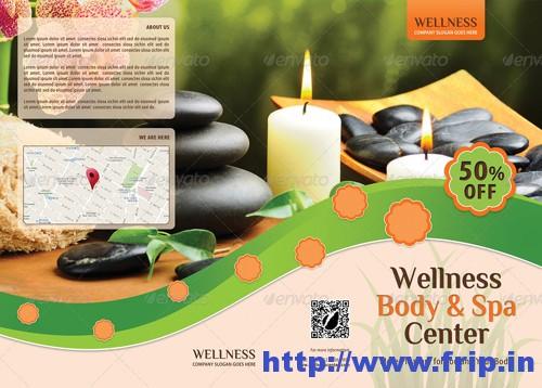 Wellness & Spa 3 Fold Brochure