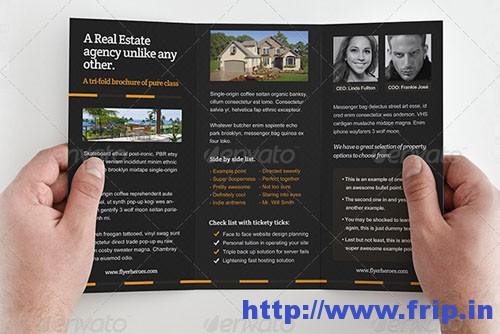 Zollo Real Estate Trifold Brochure Template
