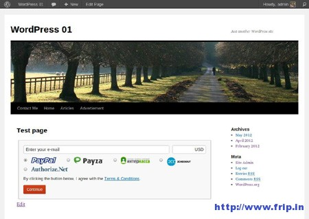 Digital Paybox WordPress Plugin