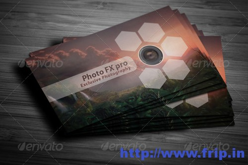 Photographer Business Card Design