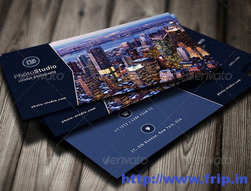 Photographer Business Card Vol 15