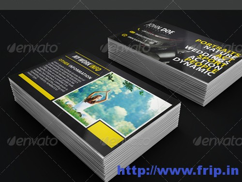 Photographer Business Cardse