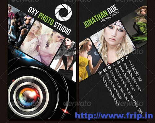 Photographer Business Cardss