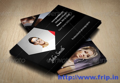 Photographer Designer Business Card