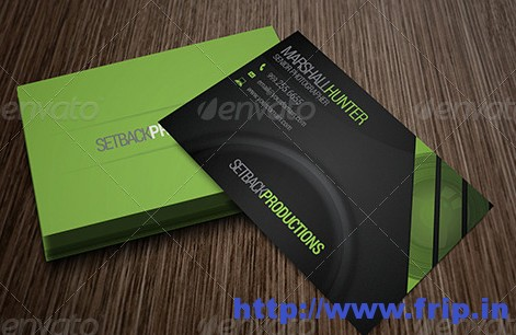 Photography Business Card 7500