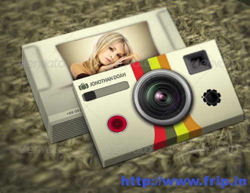Photography Business Card Vol 4