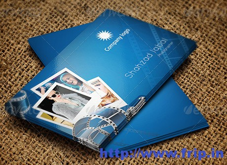 Photography Style Business Card 1
