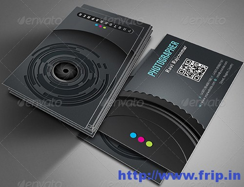 Pro Photographer Business Card