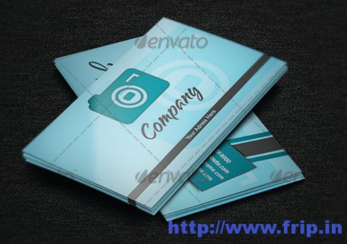 Simplistic Photography Business Card v.2