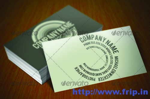 Telephoto Photography Company Business Cards