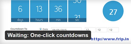 waiting-one-click-countdowns-plugin