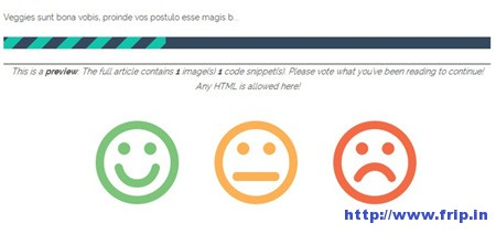 Ajax Post Feedback WordPress Plugin