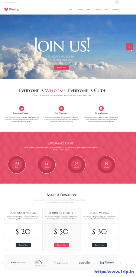 Blessing Responsive Design Theme