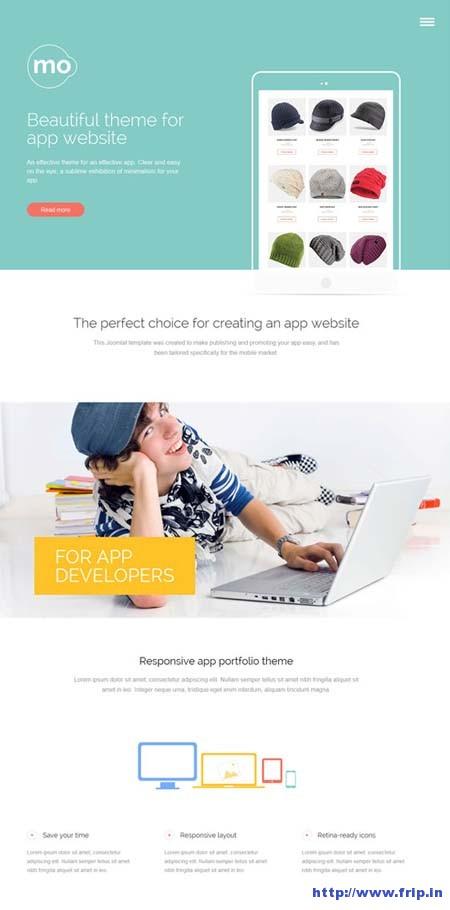 App Joomla Template