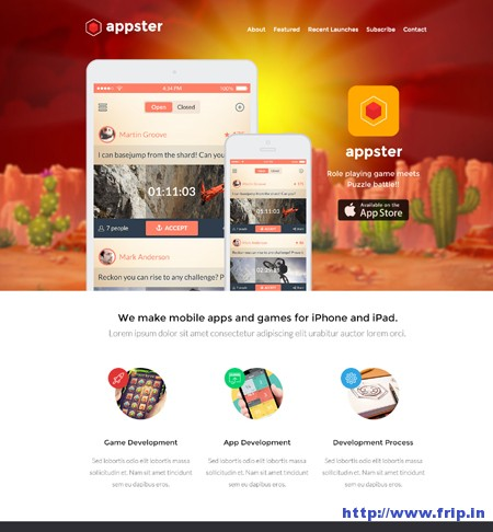 Appster Unbounce Landing Page