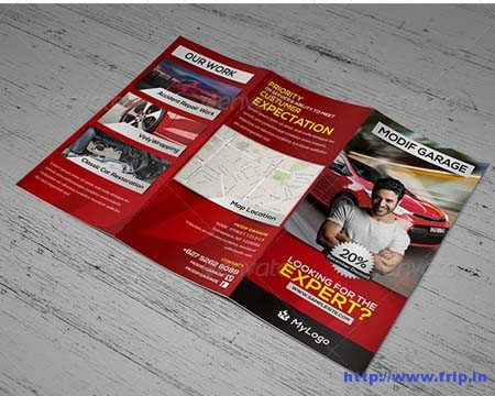 Car Modification & Service Tri – Fold