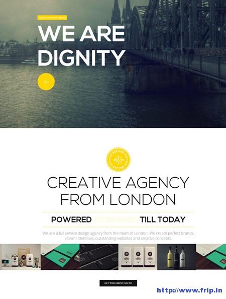 Dignity Portfolio Joomla Template