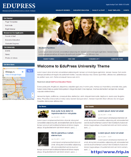 EduPress Education WordPress Theme