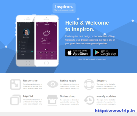 Inspiron Unbounce Landing Page Template