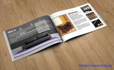 Interiores Catalog Template