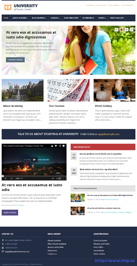 Lectura WordPress Theme