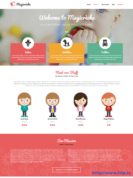 Magicreche Creche WordPress Theme