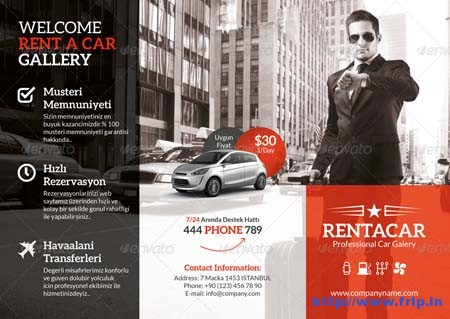 Rent A Car Tri Fold Brochurejpg
