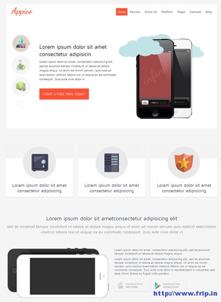 Shaper Appico Joomla App Template