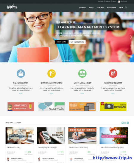 WPMLS Learning Management System
