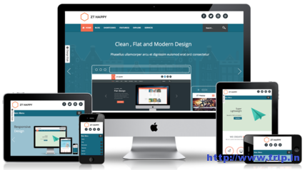 ZT Happy Responsive Template