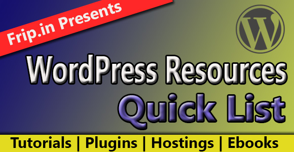 wordpress-resources-quick-list
