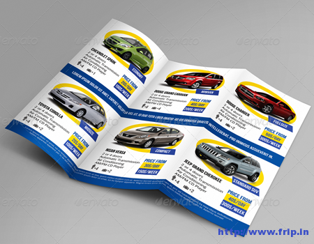 Automobile Bi - Fold Brochure