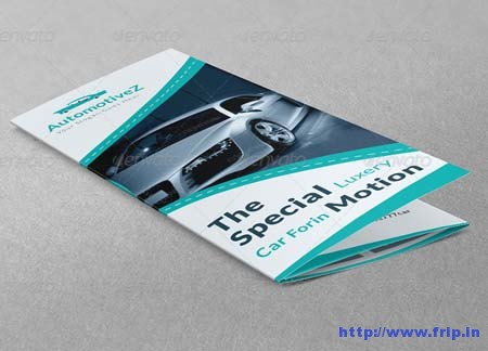 Automobile Business Tri – Fold Brochure