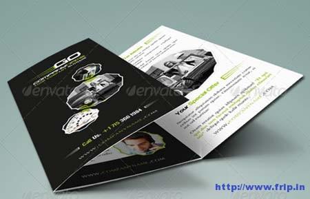 Automobile Business Tri Fold