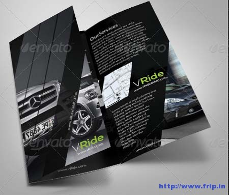 Car Business Tri – Fold Brochure