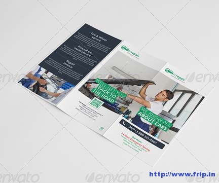 Car Repair Tri Fold Brochure