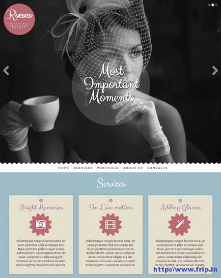 Rococo Wedding Creative Agency